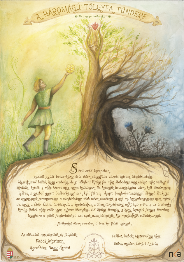 A háromágú tölgyfa tündére